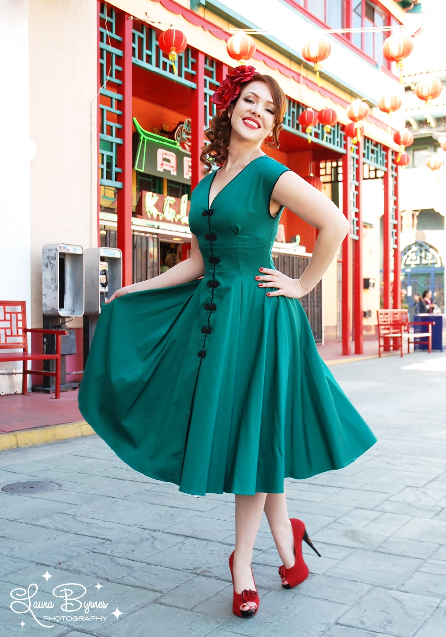Traje De Baño Estilo Pin Up:Vintage Pinup Girl Clothing