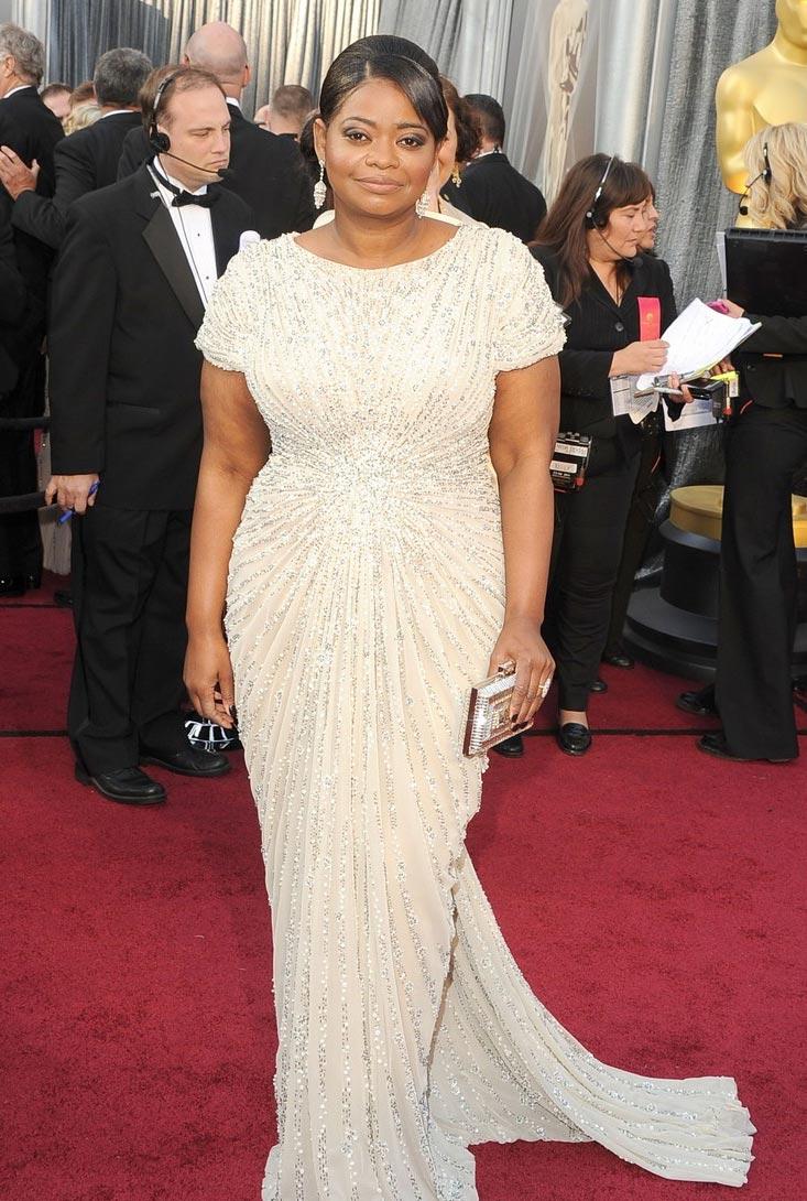 Vestidos del Oscar 2012