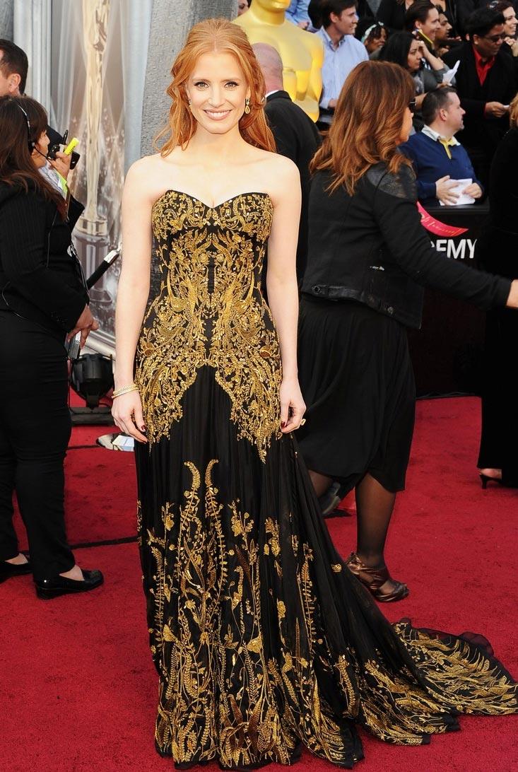 Vestidos Oscar 2012