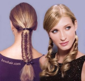 9302c31ff3e ... hasta el cabello súper corto  También tenemos trenzas y peinados con  accesorios  lo que si podemos resaltar en la mayoría de estos estilos