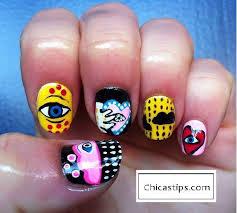 Diseño de uñas romántico