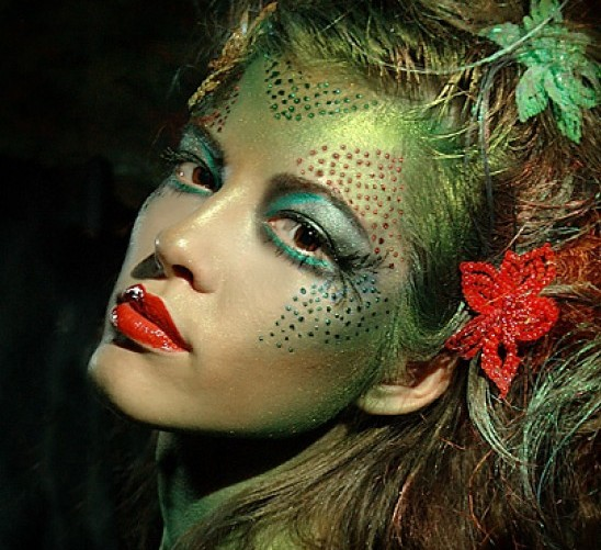 maquillaje carnaval paso a paso