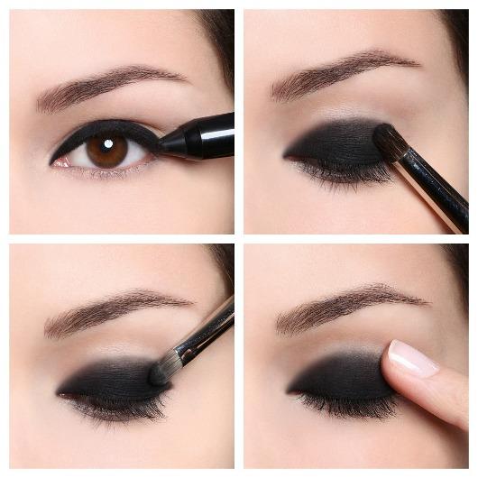 Smokey eyes tutorial for Como pintarse los ojos de negro