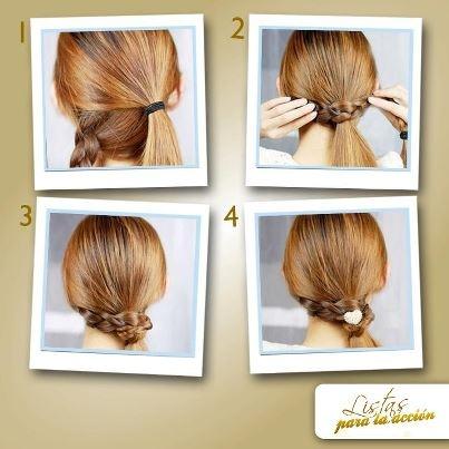 Peinados sencillos sueltos paso a paso imagui - Peinados faciles recogidos paso a paso ...