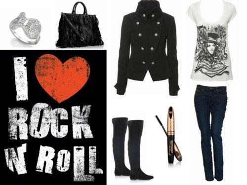Cómo llevar el look rockero, sexy y atrevido, ¡Toma nota!
