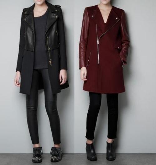 abrigos zara nueva temporada piel