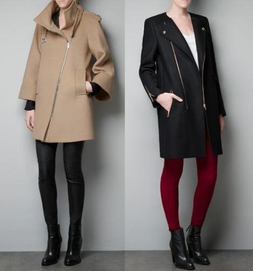 nueva coleccion de abrigos zara 2013 2014