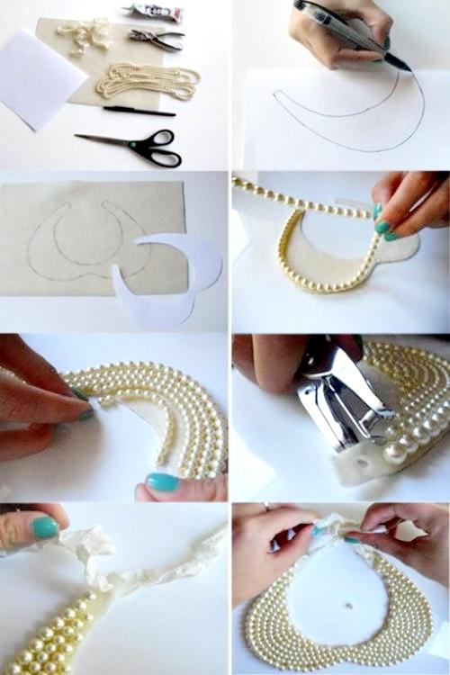Como hacer collares artesanales paso a paso imagui - Como hacer figuras de fieltro paso a paso ...