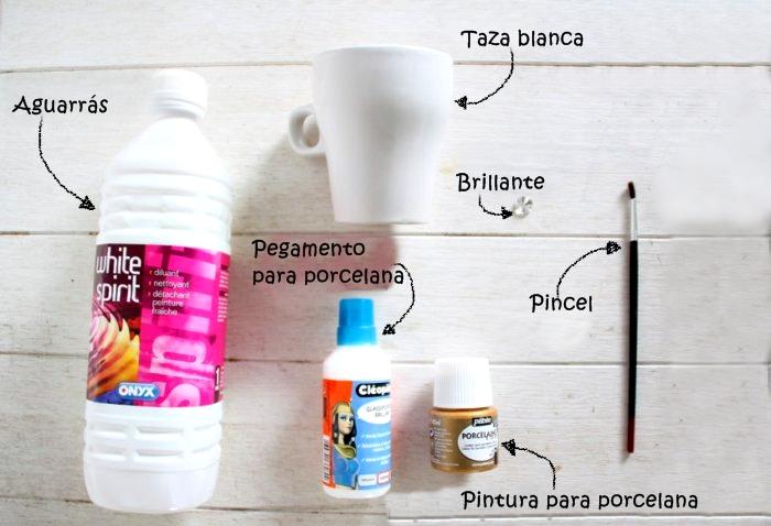 Tazas decoradas paso a paso - Como decorar una taza ...