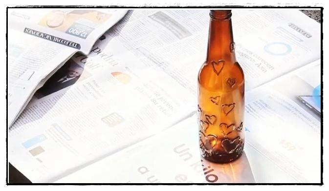 Reciclar botellas de vidrio for Reciclar botellas de vidrio