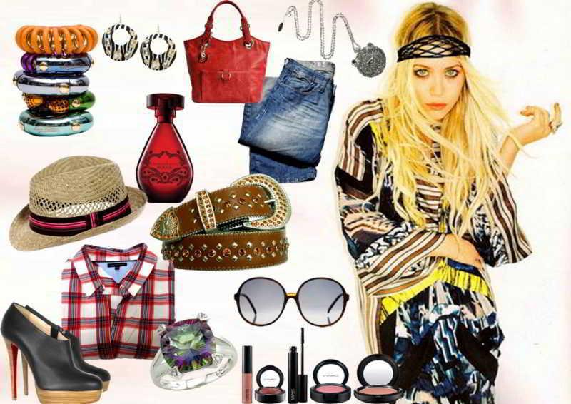 Hippie chic la nueva tendencia en moda for Imagenes boho chic