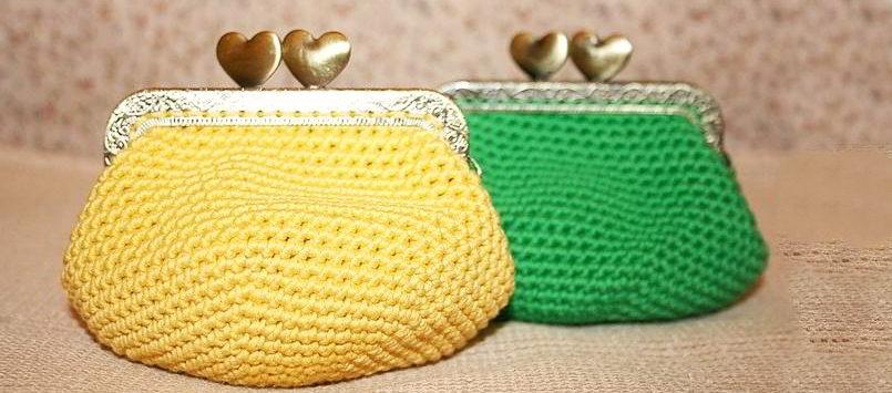 Monederos De Crochet Paso A Paso - Monederos-ganchillo