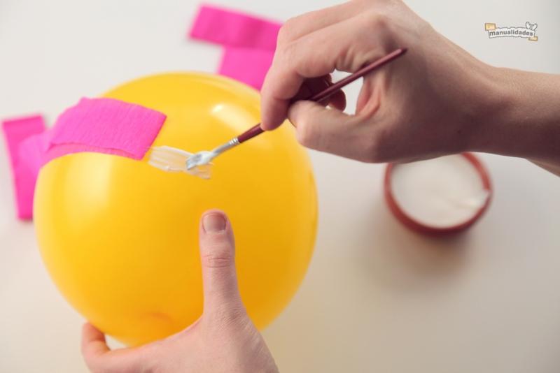 L mparas de papel paso a paso - Como hacer lamparas de pie ...