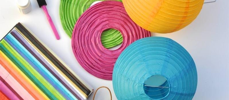 Lenceria De Baño Paso A Paso:Lámparas de papel paso a paso