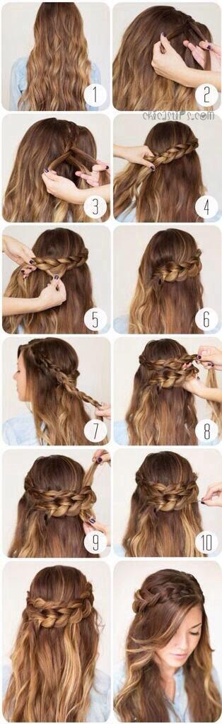 peinados con pelo suelto 4