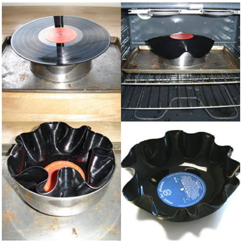 Manualidades con reciclado - Manualidades con discos ...