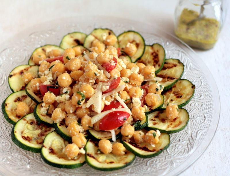 Cocina fresca y f cil para el verano - Ensalada de garbanzos light ...