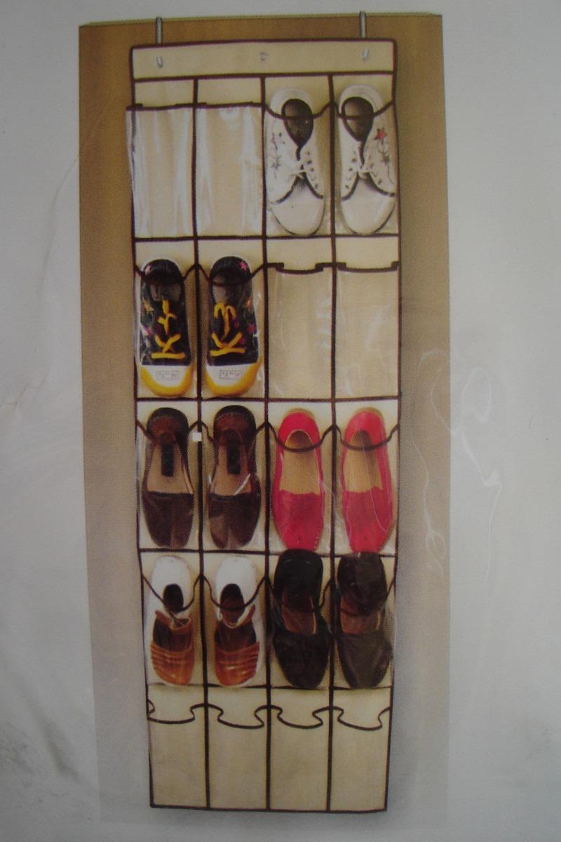 Ideas para organizadores de zapatos for Zapateros de colgar en la pared