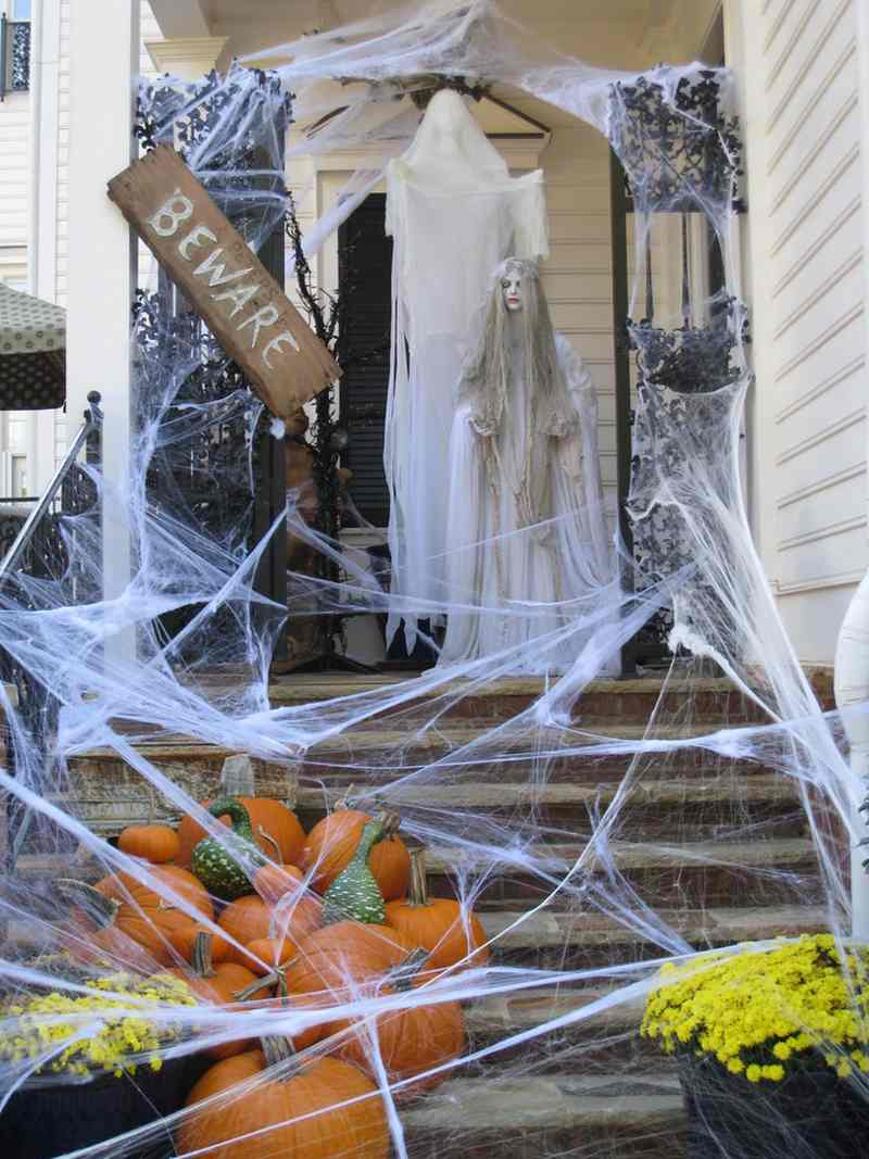 Ideas de decoraci n para halloween - Decoracion casa halloween ...