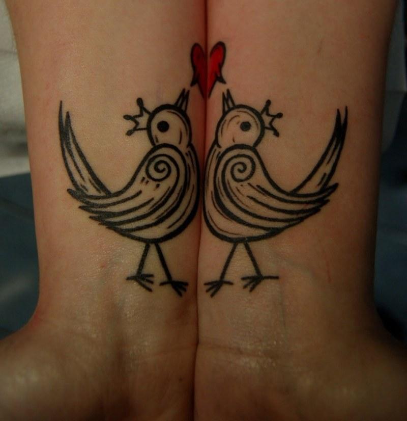 Tatuajes originales para parejas elegid el vuestro - Ideas originales para parejas ...